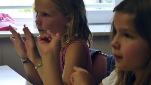 Activité TAP – «langage des signes»