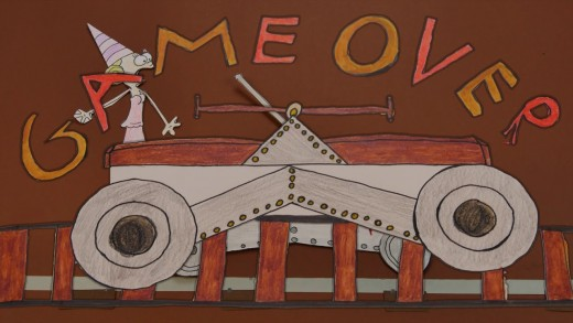 Game Over – Atelier Stopmotion